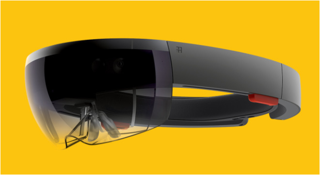 Micrsosoft HoloLens does untethered Virtual and Augmented Reality armed with sensors and three processors