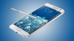 The Samsung Galaxy Note Edge with stylus S Pen and dual screen mode is a veritable multi-tasking phablet