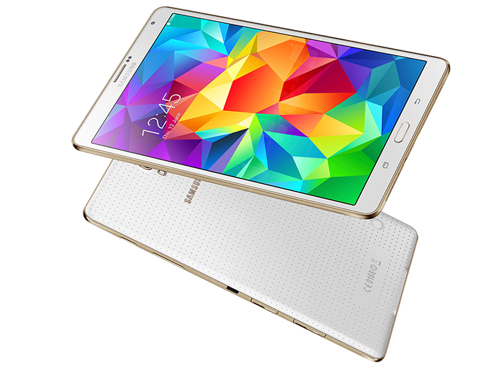 Samsung Galaxy TabS 8.4 inch tablet has a stunning screen