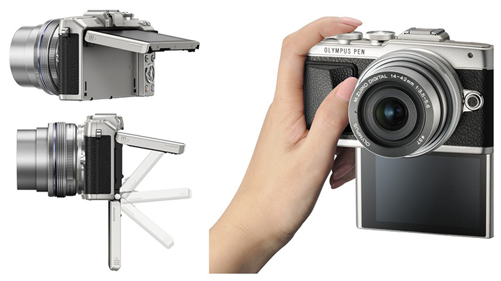 The Olympus PEN E-PL7 is a great smart phone companion for quality photography and selfies