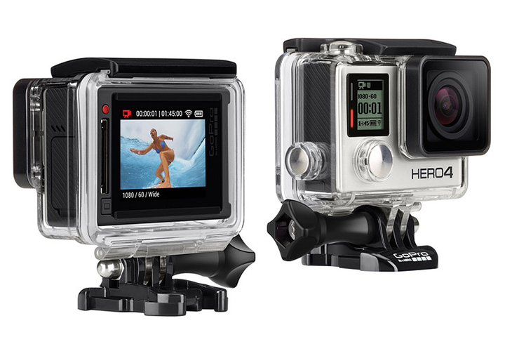 The ultimate selfie video and camera GoPro Hero 4 Silver