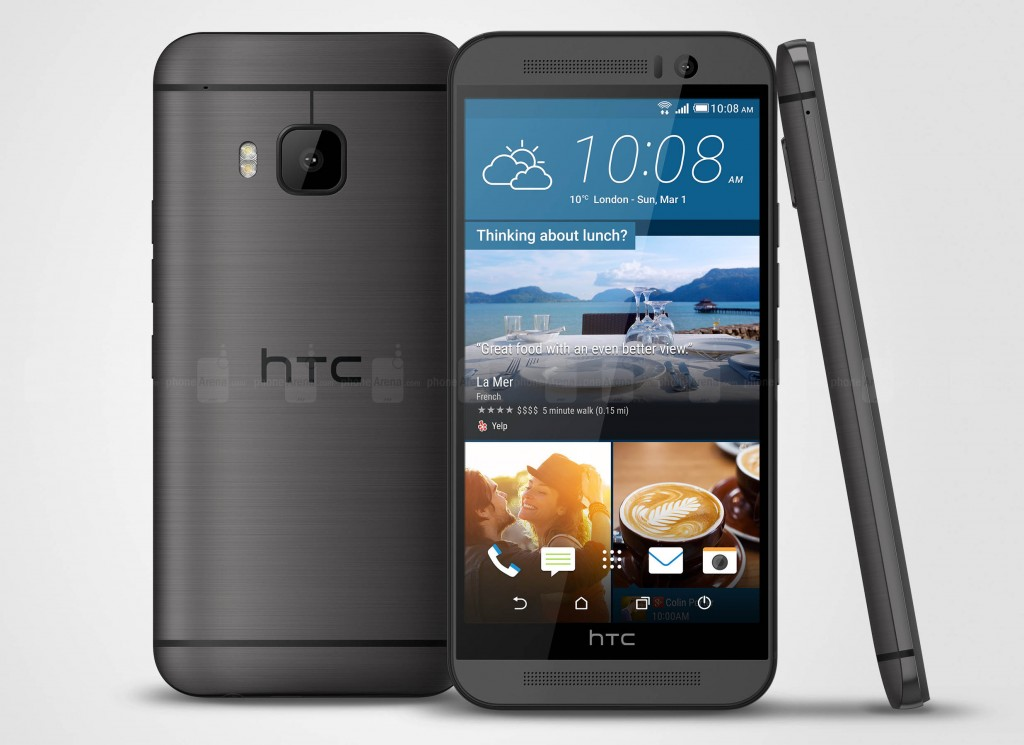 The HTC One M9 offers quality and eclectic design for a top tier phone