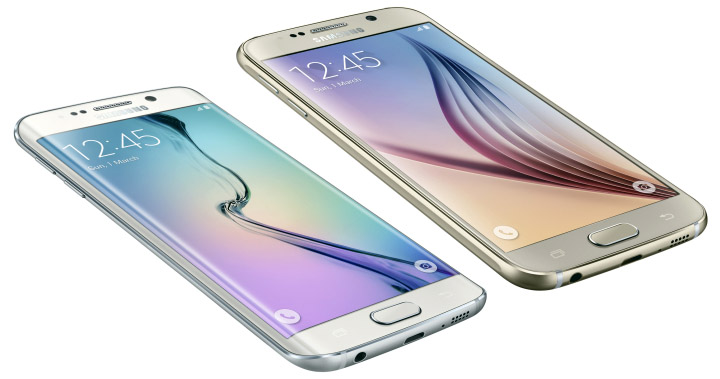 The Samsung 6 Edge with dual curved screen is stunning, but the also gorgeous S6 will save you money for a memory upgrade