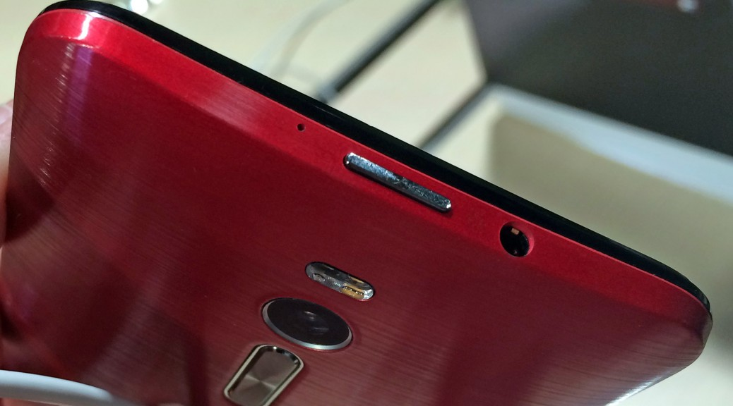The Zenfone 2 has a credible finish despite its use of plastic over metal