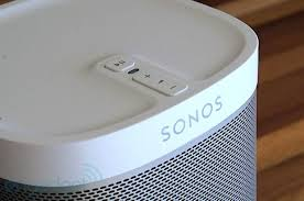 The starter Sonos Play:1 has two speaker drivers for amazing sound