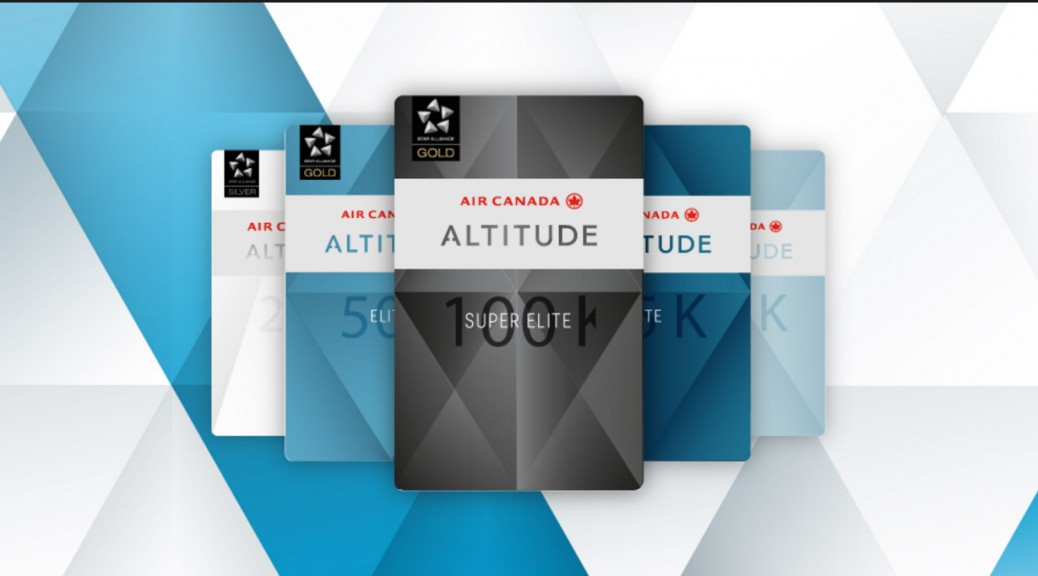 Air Canada Altitude frequent flyer program raises requirements steeply
