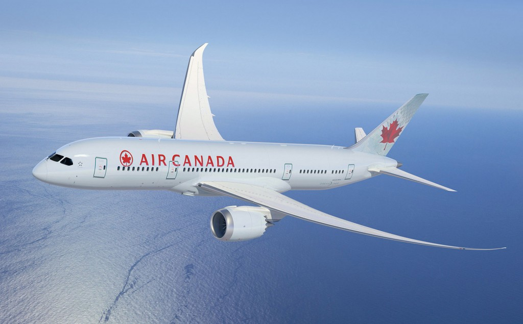 Air Canada High Tech Boeing Dreamliner is less stressful for crew and passengers