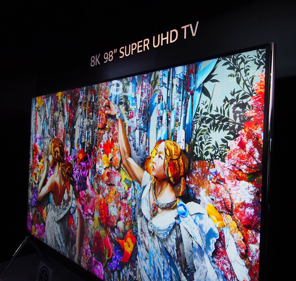 Ready for the special order LG 8K 98 inch Super UHD TV? LG likes to show off.