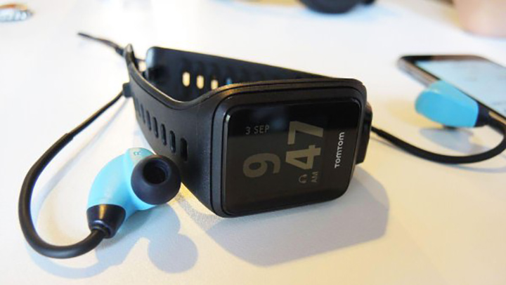 TomTom Spark GPS with 3 GB of cardio songs