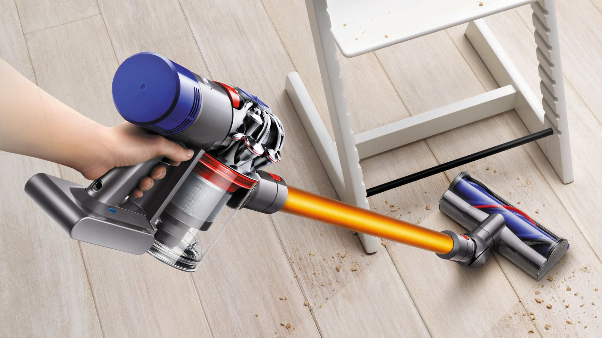 The Dyson V8 Absolute is big on performance, looks and price