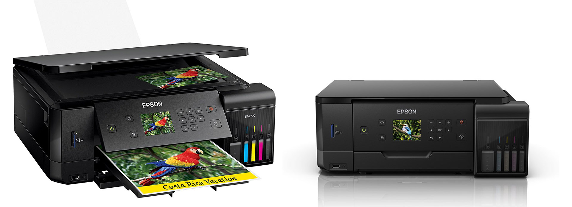 EPSON'S TOP TWO SUPERTANK PRINTERS OFFER BIG INK SAVINGS IN